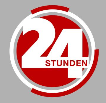 24 Stunden Logo  Sat.1