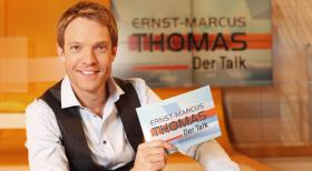 Ernst-Marcus Thomas - Der Talk - Hier gehen alle auf Konfrontationskurs - sogar der Moderator: In dem Talk-Format &quot;Ernst-Marcus Thomas - Der Talk&quot; bezieht Moderator Ernst-Marcus Thomas klare Stellung zu den hei diskutierten Themen.  Benedikt Mller SAT.1