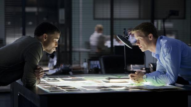 Ein neuer Fall beschäftigt Travis (Michael Ealy, l.) und Wes (Warren Kole, r....