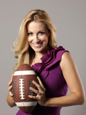 ran Super Bowl - Andrea Kaiser moderiert 