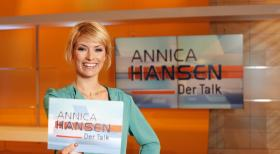 Annica Hansen - Der Talk - Hier gehen alle auf Konfrontationskurs - sogar die Moderatorin: In dem neuen Talk-Format &quot;Annica Hansen - Der Talk&quot; bezieht Moderatorin Annica Hansen klare Stellung zu den diskutierten Themen.  Benedikt Mller SAT.1