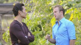 Hawaii Five-0 - Ein neuer Fall wartet auf Chin (Daniel Dae Kim, l.) und Danny (Scott Caan, r.) ...  2012 CBS Broadcasting, Inc. All Rights Reserved.