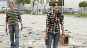 Navy CIS: L.A. - Ermitteln in einem Fall: Kensi (Daniela Ruah, r.) und Deeks (Eric Christian Olsen, l.) ... © CBS Studios Inc. All Rights Reserved.