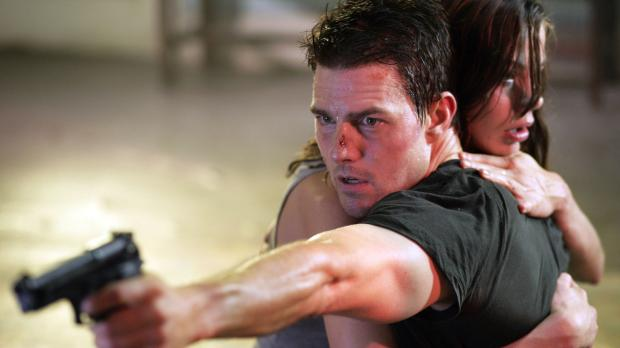 Mission: Impossible 3 - Julia Meade (Michelle Monaghan, r.) ist von dem bruta...