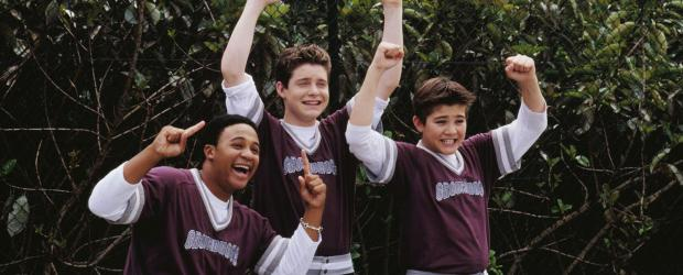 Eddies große Entscheidung - Dream-Team: (v.l.n.r.) Frankie (Orlando Brown), Eddie (Taylor Ball) und D. B. (Reiley McClendon) ... © The Disney Channel