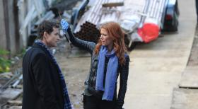 Unforgettable - Ermitteln in einem neuen Mordfall: Carrie (Poppy Montgomery, r.) und Al (Dylan Walsh, l.) ... © 2011 CBS Broadcasting Inc. All Rights Reserved.