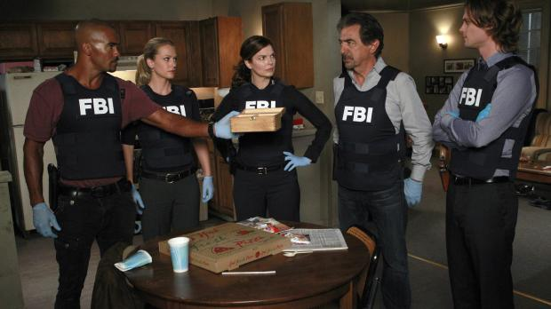 Ermitteln in einem neuen Fall: (v.l.n.r.) Morgan (Shemar Moore), JJ (AJ Cook)...
