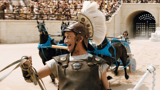 Asterix bei den Olympischen Spielen - Brutus (Benoît Poelvoorde) schreckt vor...